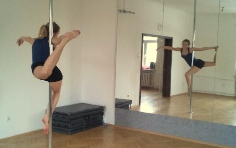 Pole dance – przygód na rurce ciąg dalszy
