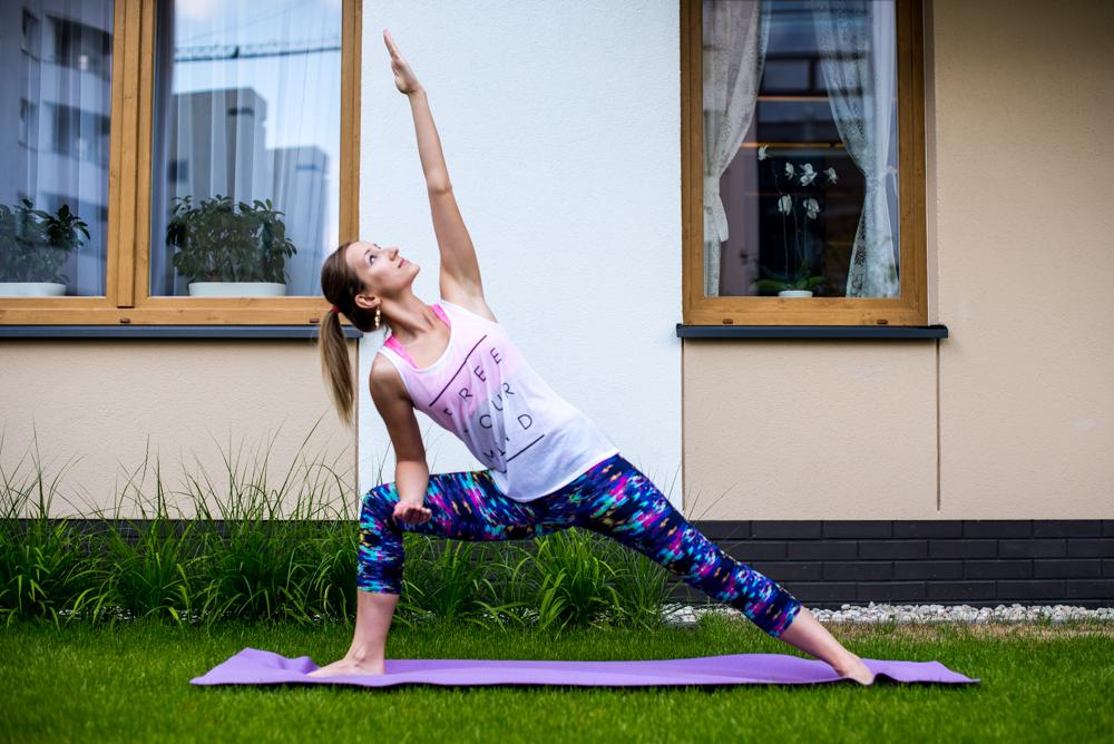Ćwicz jogę w domu #1
