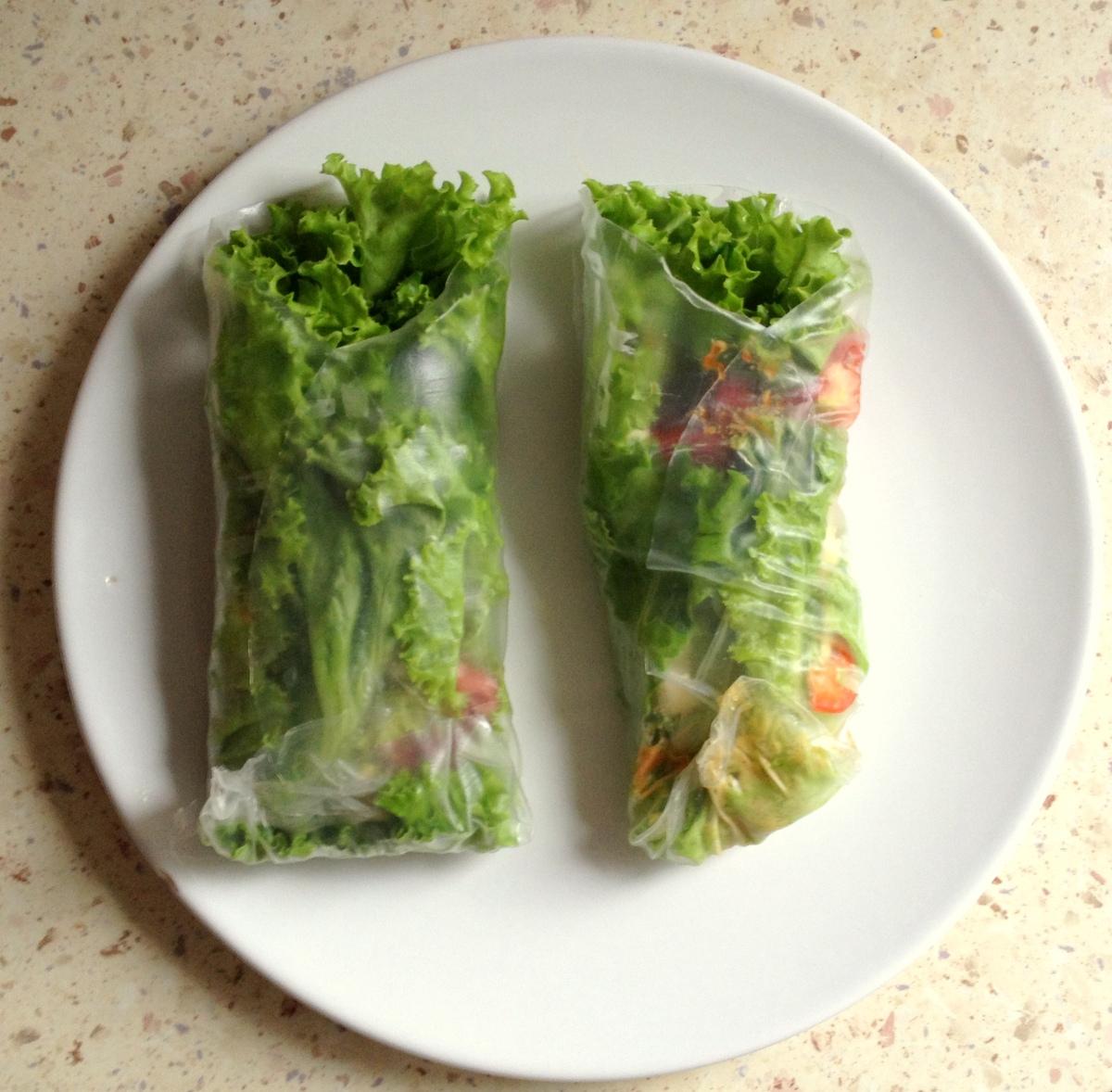 Warzywne rollsy